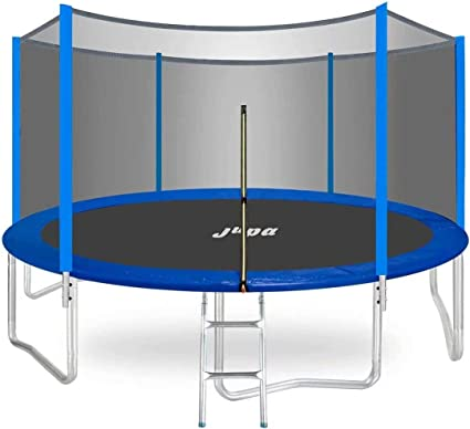 JUPA Round Trampoline With An Enclosure Net - Weight Capacity