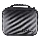SUREWO Surface-Waterproof Carrying Case Compatible with GoPro Hero 8/7/(2018)/6/5/4 Black,Hero 3+,DJI Osmo Action,AKASO/Campark/YI Action Camera and More (Medium)