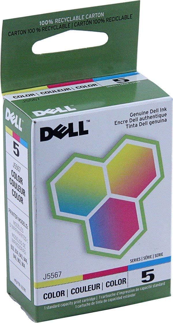 Genuine Dell Series 5 (J5567) Color Ink Cartridge