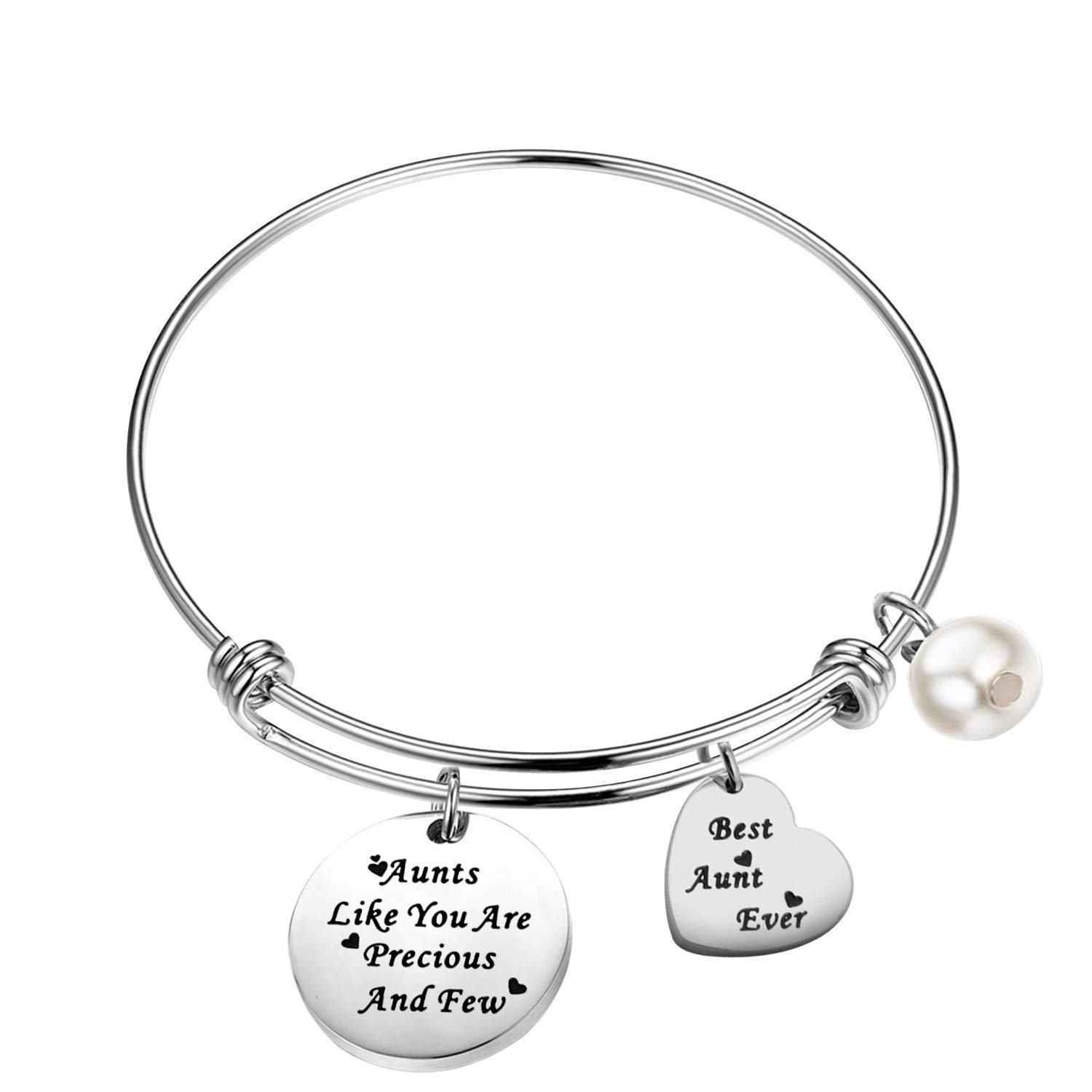 Aunts Like You are Precious and Few Bracelet Best Aunt Ever Gifts KUIYAI