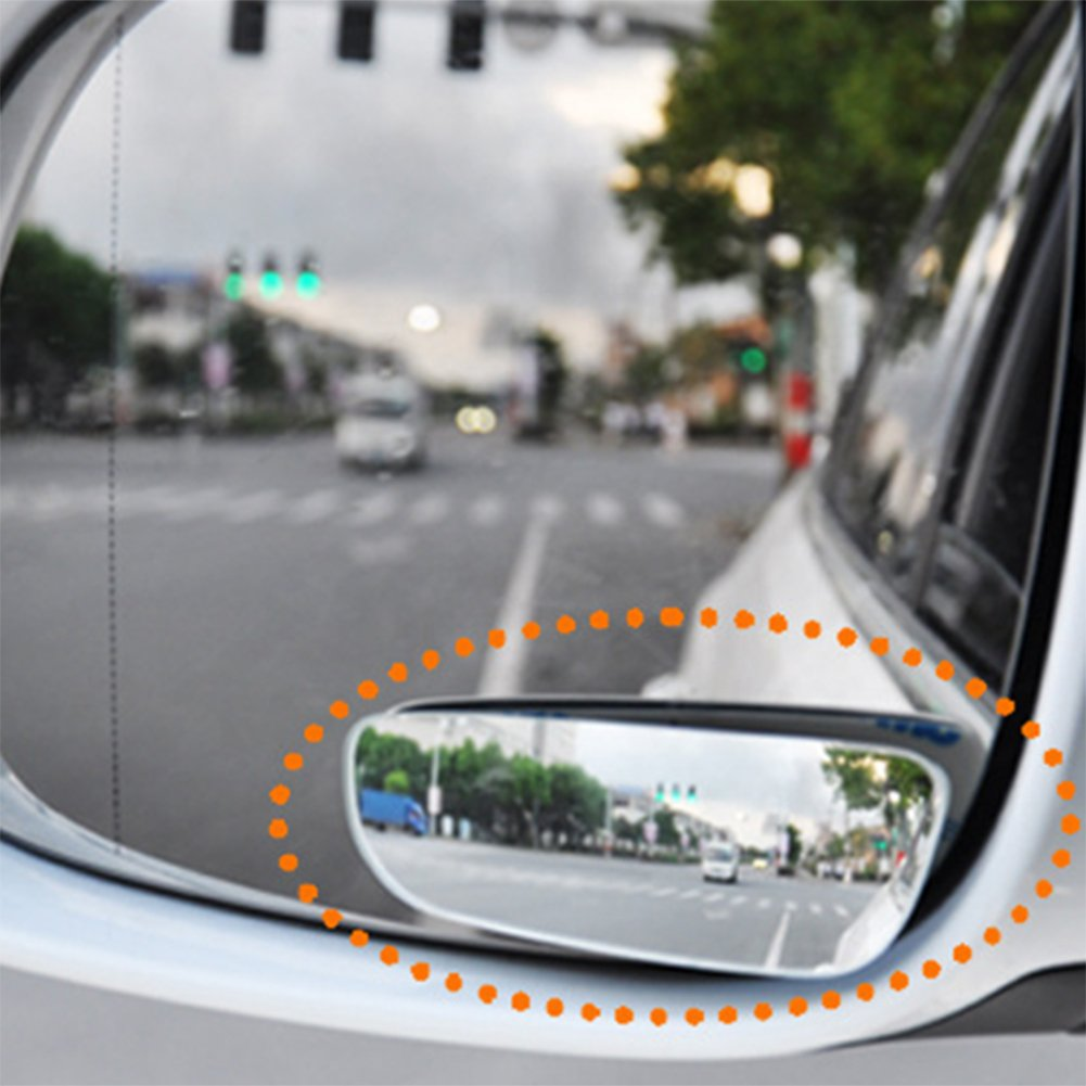 Daorier Blind Spot Car Mirror Wide Angle HD Glass//Mirror Car Totwinkel Frameless/ /Mirror Blind Spot Rear View Mirrors Pair of 2