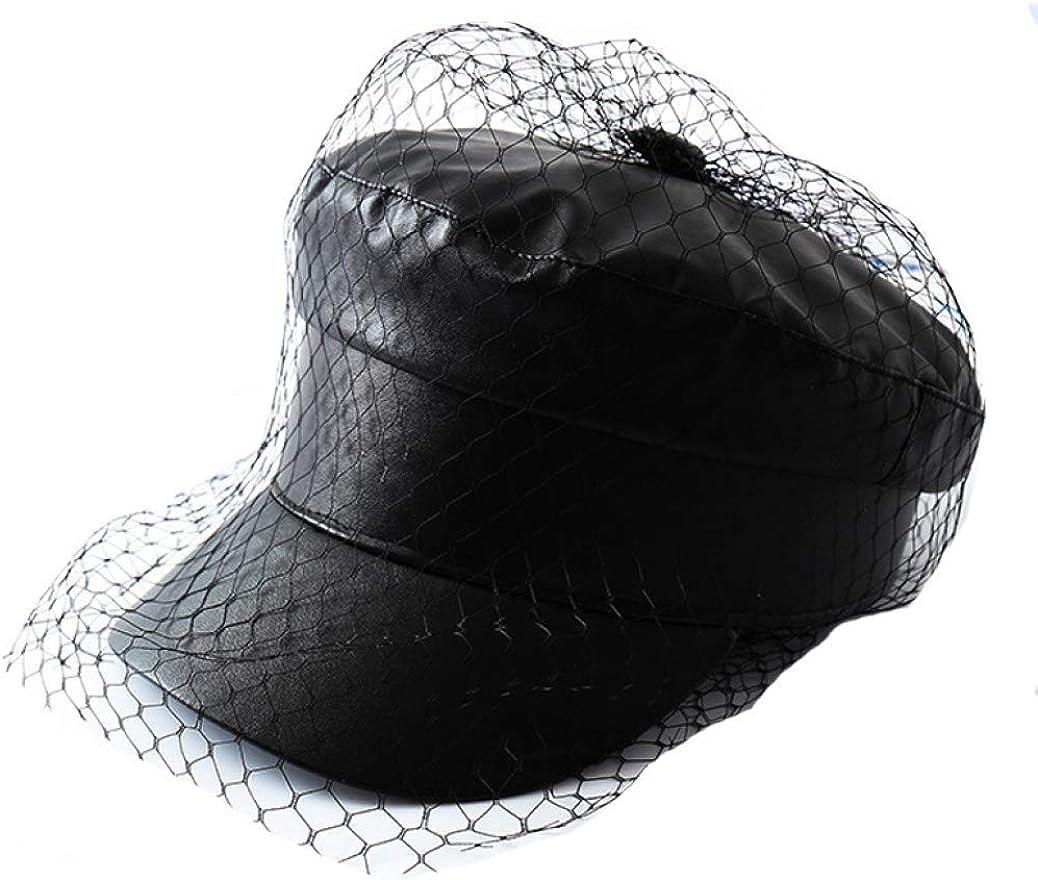 Spring Summer Octagonal Cap...