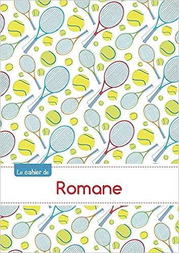 Livre gratuits en ligne CAHIER ROMANE PTSCX,96P,A5 TENNIS pdf ebook