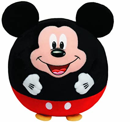 Ty - Ratón de peluche Mickey Mouse (38050)