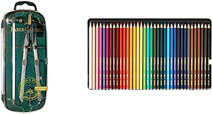 Matite colorate acquarellabili Stabilo aquacolor® scatola in metallo assortit...