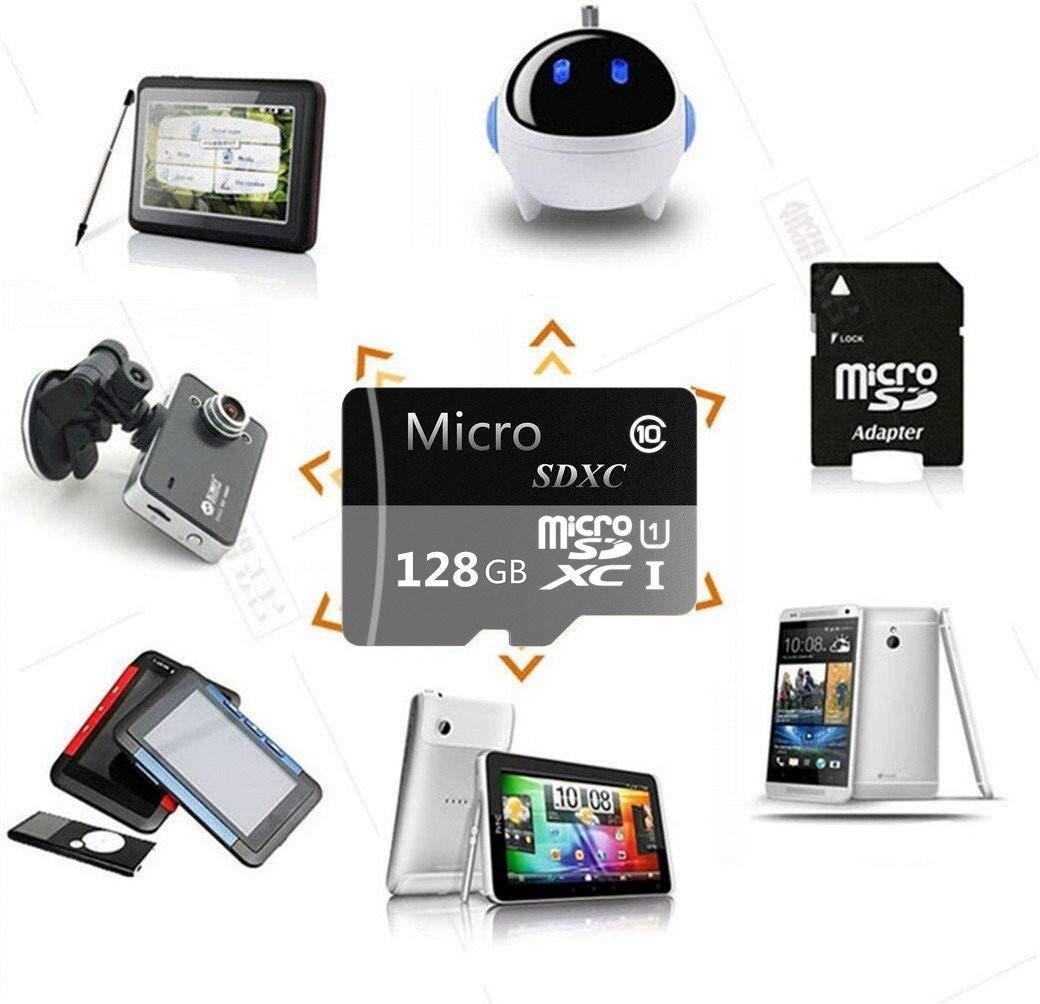 Tarjeta de Memoria Micro SD de 128 GB de Alta Velocidad Clase 10 ...