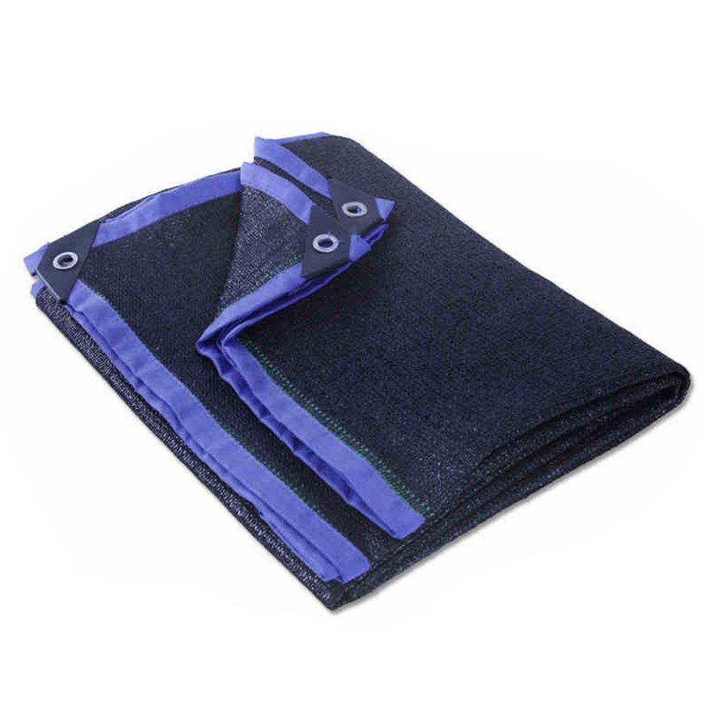 DWSD10 Sonnenschutz-Tuch Im Freien Schwarze Verschlüsselung Verdickung Schatten Net Blaume Pflanze Sonnencreme Isolierung Auto Dachkühlung-B