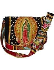 Hemet Guadalupe Virgin Mexican Messenger Bag IV