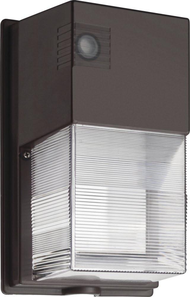 Lithonia Lighting P1 50K MVOLT PE DDB M4 TWS LED Wall Pack, 5000K, 120-277V, Photocell, Dark Bronze, Daylight