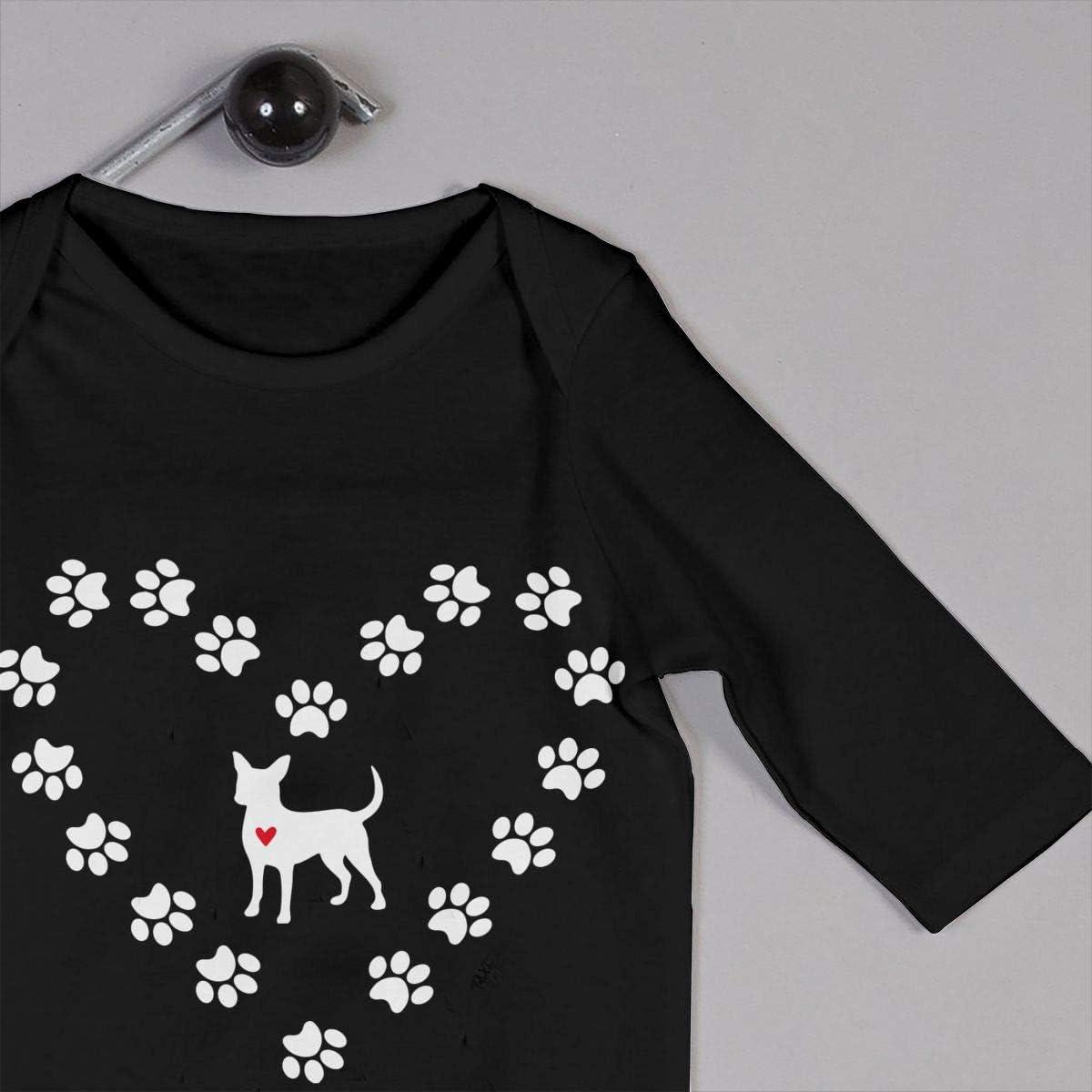 Dogs Toddler Romper Girl/'s Organic Romper