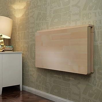 Mesa plegable de pared Cocina pequeña Comedor Mesa con solapa de ...