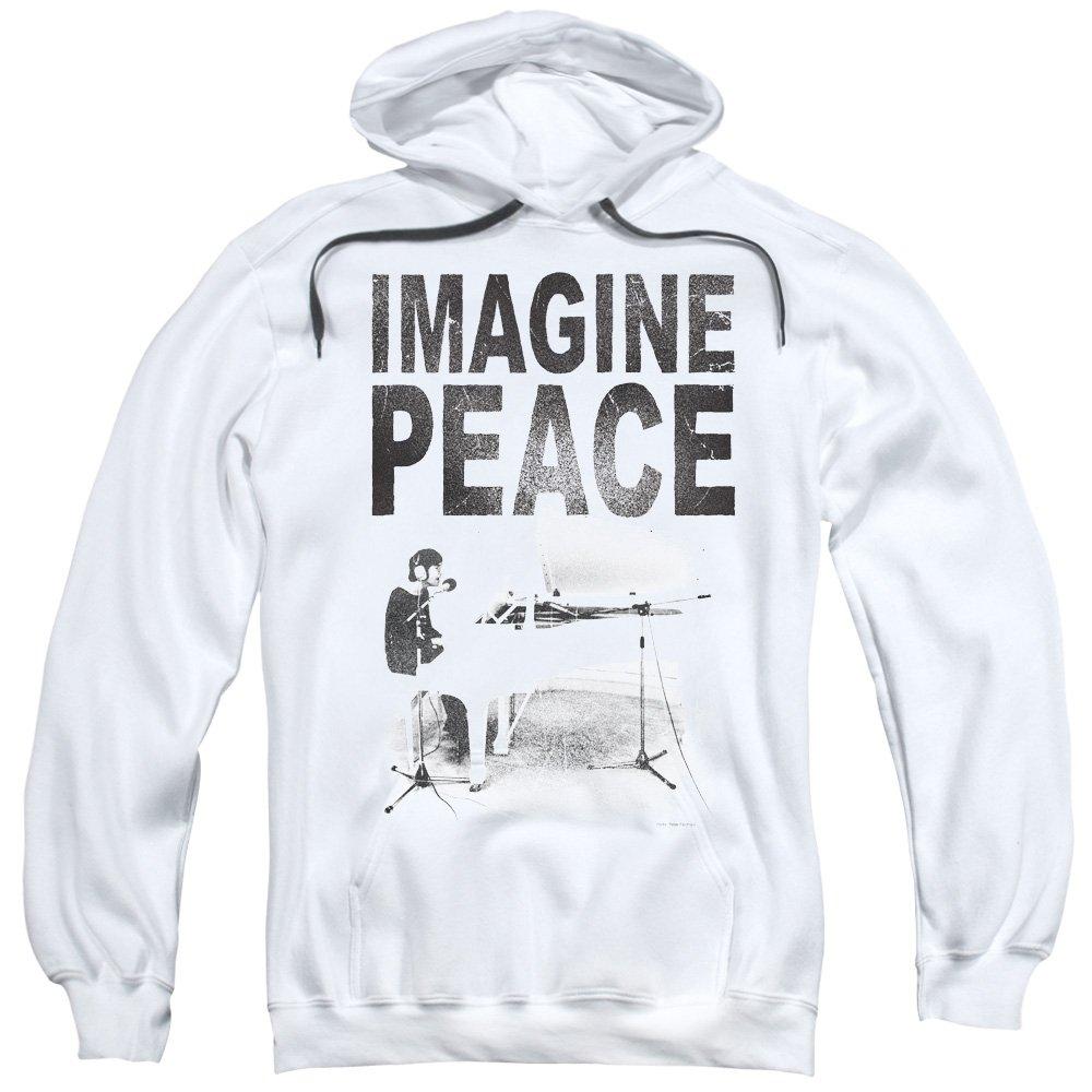 John Lennon Imagine Mens Pullover Hoodie Trevco