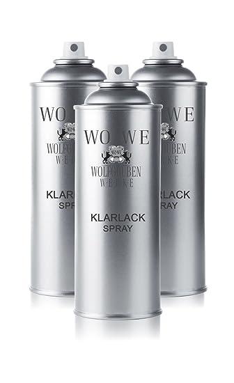 Wowe 3x400ml Autolack Spray Klarlack Glanzend Ls505 Autolackspray