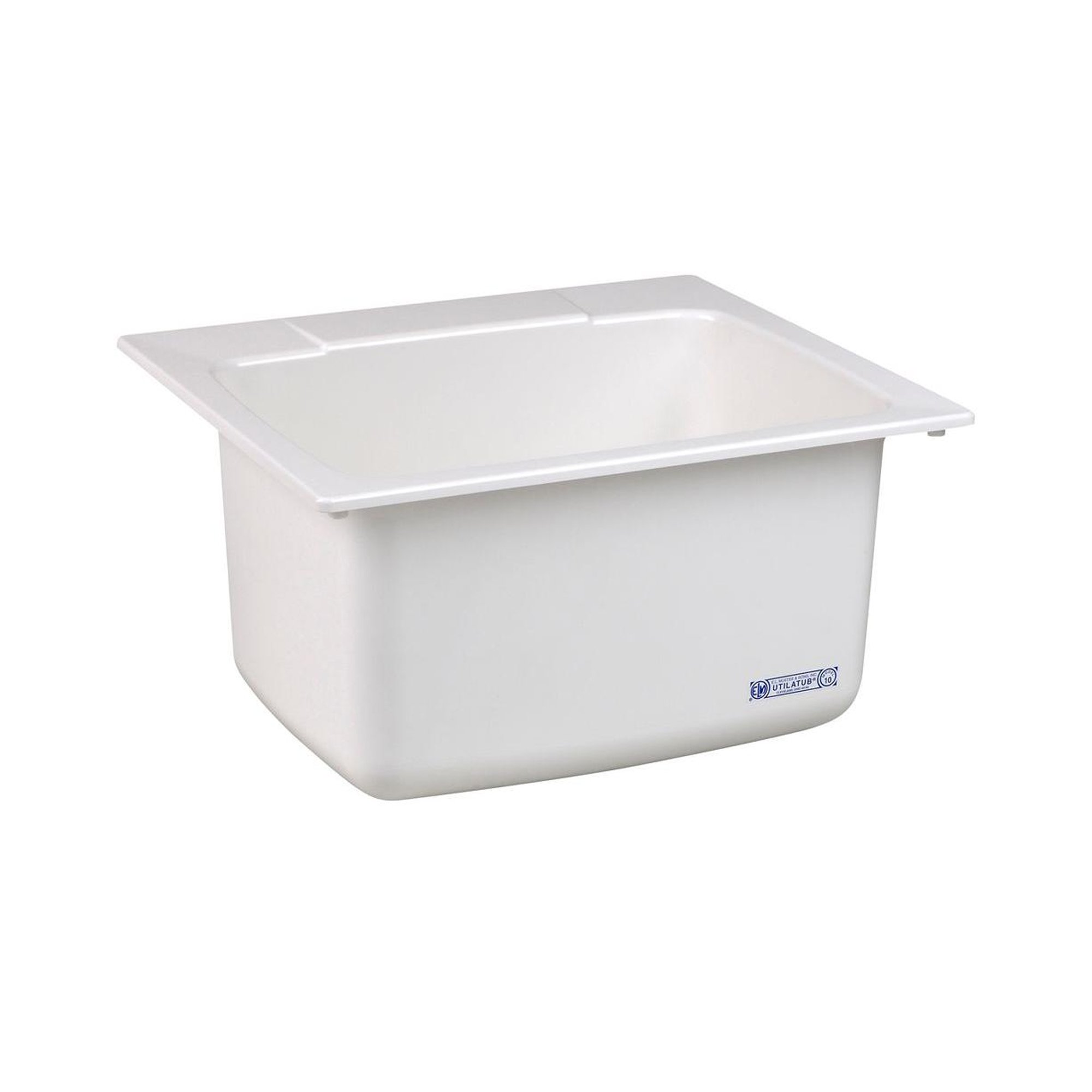 Mustee 10 Utility Sink, 22-Inch x 25-Inch, White by Mustee