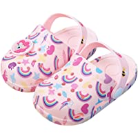 HommyFine Zuecos Bebé Niños y Niñas Sandalias de Unicornio Verano Sandalias de Playa Respirable Antideslizante Piscina…