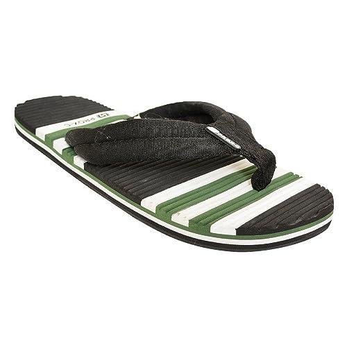 31b64de9e3e252 DESI JUTA New Latest Fashion Stylish Green and White Colour Mule Flip-Flops    House