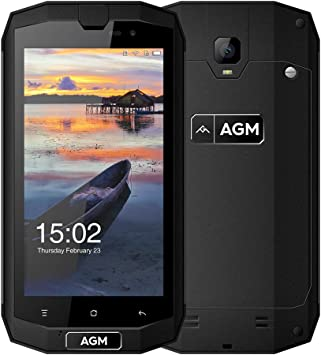 AGM A1Q Smartphone IP68 Impermeable 4GB RAM 64GB ROM Android 7.0 ...