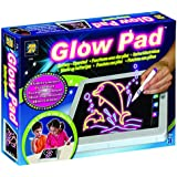 AMAV Toys Glow Pad 5130 Amav Portable, High-Tech, Tablet-Sized Light up Drawing Board, with Batteries