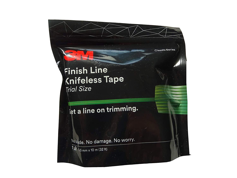 3M Tri Line Knifeless Tape KTS-TL9 Green 9mm x 50m Spaced Filaments x 3 Rolls