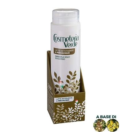 Leche Limpiador Aclarado Cosmeteria Verde - Ideal para la limpieza de pieles disihidratadas, iritadas u