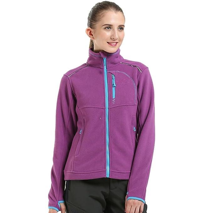 WanYang Mujer Deportiva Chaqueta al aire libre Chaqueta con Cremallera abrigos de vestir abrigos chaquetas baratas parkas: Amazon.es: Ropa y accesorios