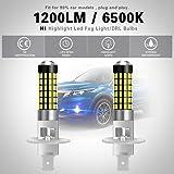 NATGIC H1 LED Bulbs 1800LM 6500K 3014SMD 78-EX