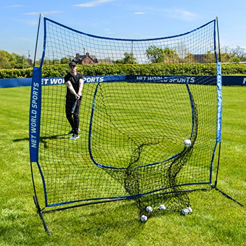 FORTRESS Pop-Up Sock Net Screen – The Ultimate Baseball Practice Aid [Net World Sports] by Fortress
