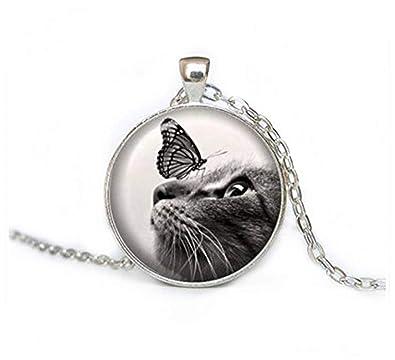 sea-maiden - Collar de Gato y Mariposa, joyería para Gatos ...