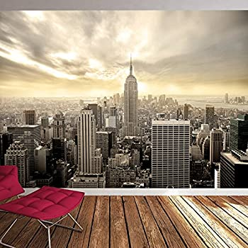 Manhattan Skyscrapers New York USA Skyline Wall Mural Cityscape Photo Wallpaper Available In 8 Sizes