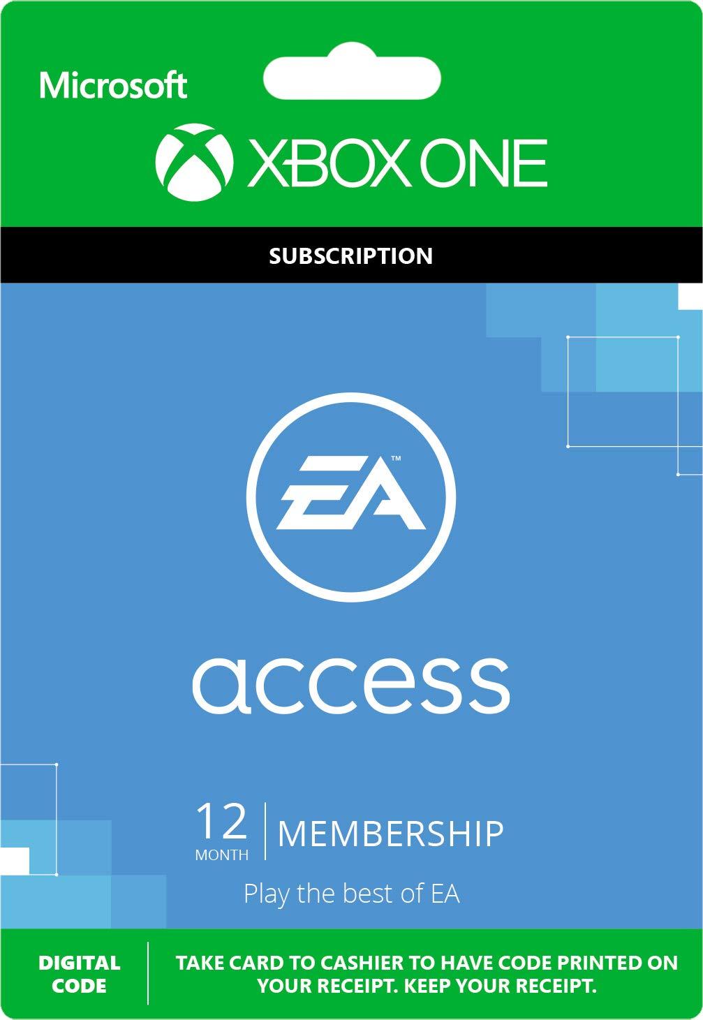 ea access xbox one code free