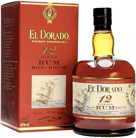 RON EL DORADO 12 AOS - EN CAJA - 70CL