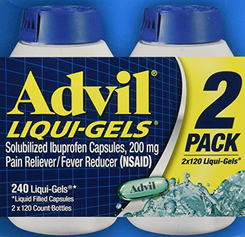 Advil Liquigels, 200 Miligrams, 240 Count 200mg