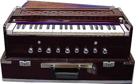 JAS Harmonium Super Deluxe - Cañas de latón portátiles