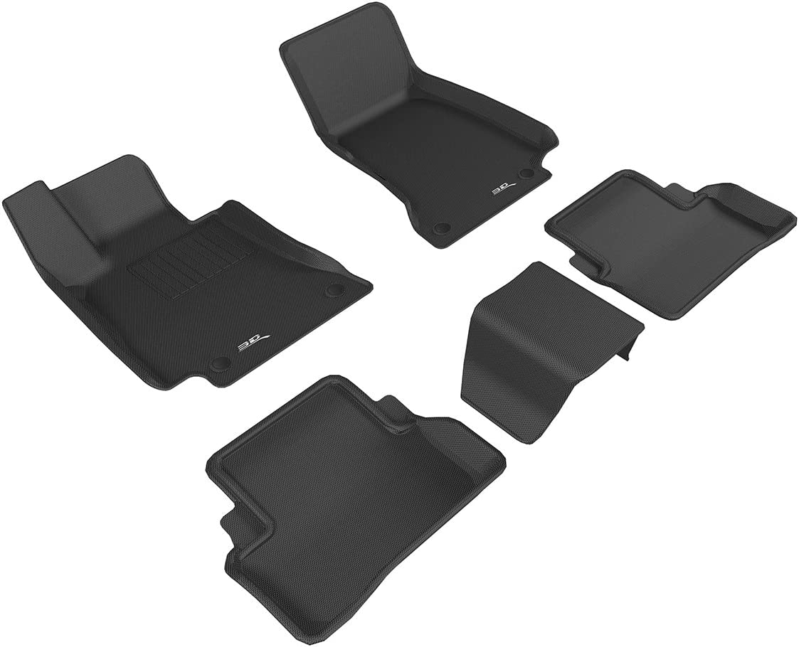 2010 Ford Edge Sport Utility Black with Red Driver /& Passenger Floor 2008 2009 GGBAILEY D2432A-F1A-BLK/_BR Custom Fit Car Mats for 2007