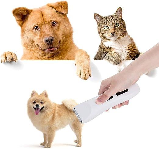 Cortapelos para perros, cortapelos eléctricos para perros de bajo ...