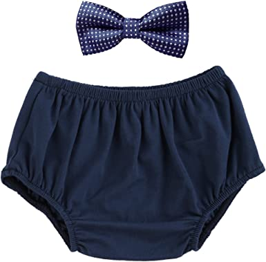 Baby Bowtie Blue and Pink Plaid Bow Tie and Navy Blue Suspenders Set Toddler Boy Gift Ideas 1st Birthday Outfit Boys Cake Smash Outfit