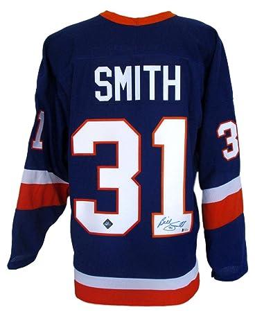 d3739f53681 ... Billy Smith Signed New York Islanders CCM Hockey Jersey Beckett BAS