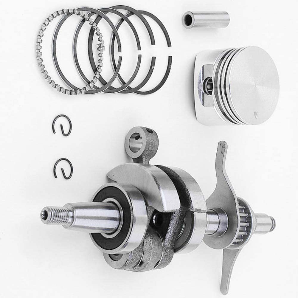 Kit de anillo de pistón de ajuste para Honda GX25 UMK425 FG110 GX25NT Desbrozadora Cigüeñal Cortadora de césped: Amazon.es: Bricolaje y herramientas