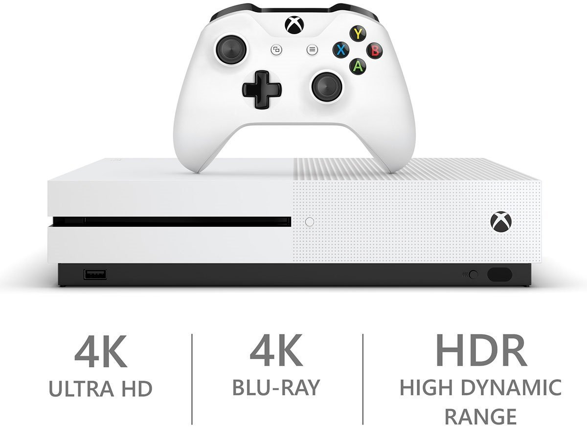 Xbox One S Console With Wireless Controller Choose Your Edition, Favorite Games, Accessories and More