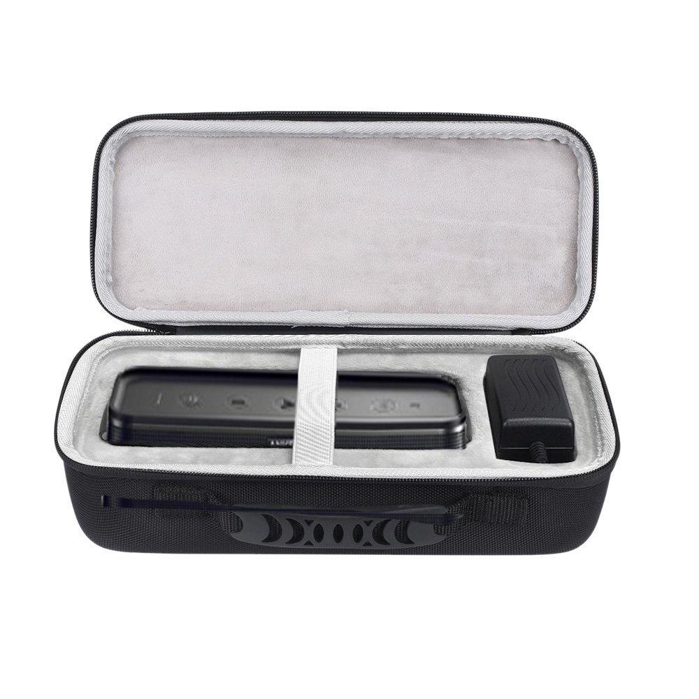 Esimen For SoundCore Pro + 25 W Bluetoothスピーカー持ち運びバッグ保護用ボックス  Black+Gray B07BS863L8