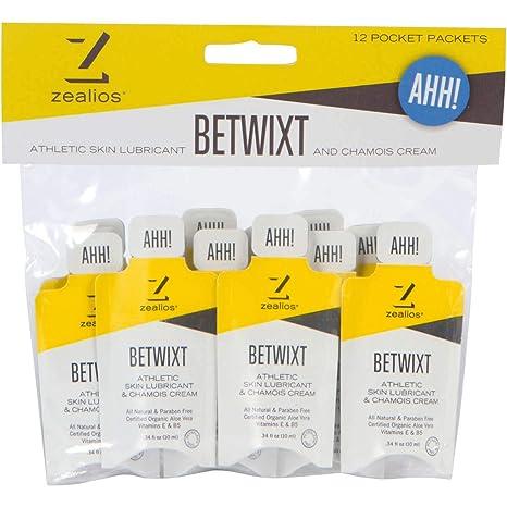 Zealios Betwixt Athletic Skin Lubricant & Chamois Cream (12