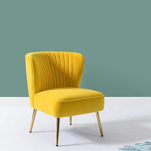 Modern Comfy Velvet Side Chair