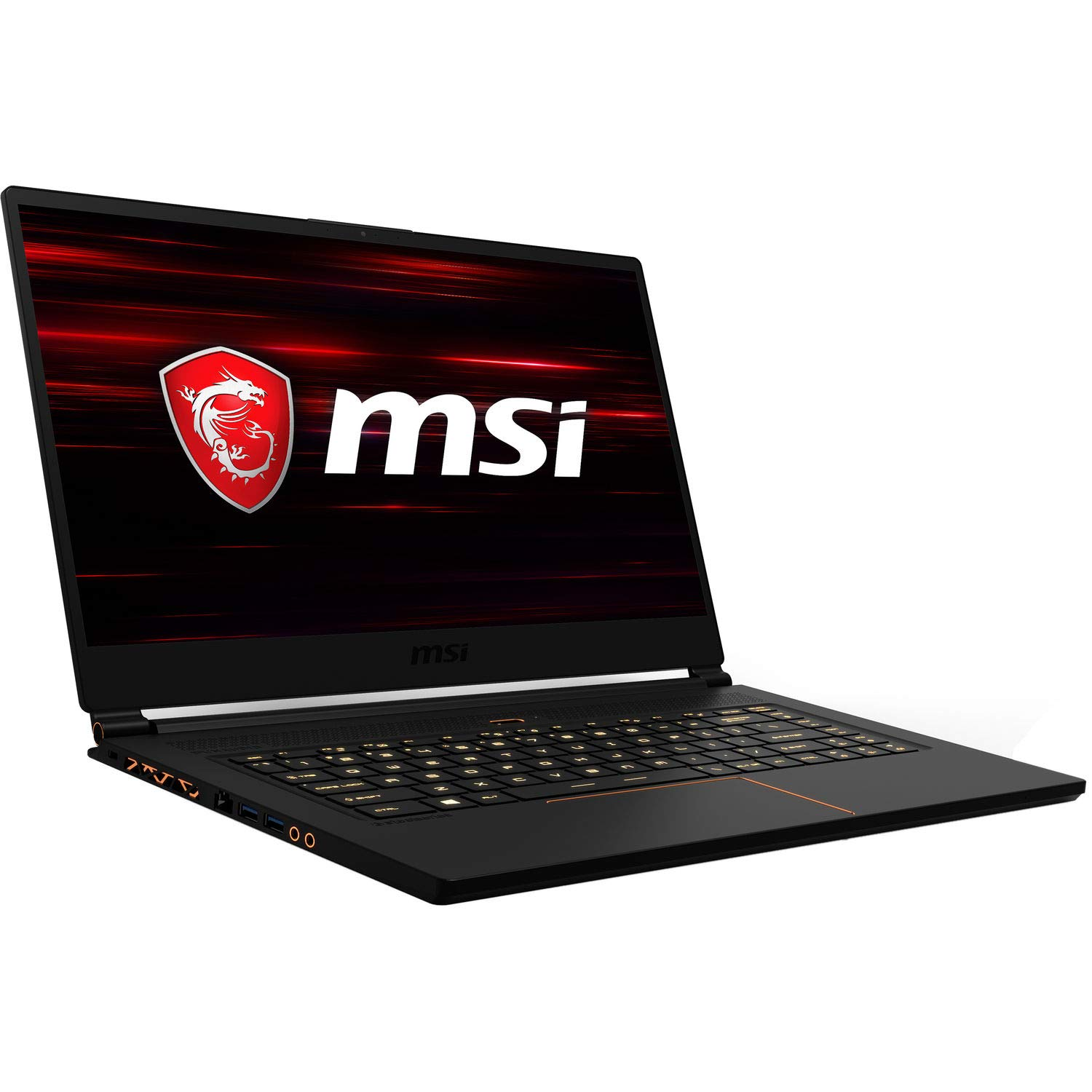 MSI GS65 Stealth Thin and Light Premium Gaming and Business Laptop (Intel 8th Gen i7-8750H, 16GB RAM, 1TB PCIe SSD, 15.6