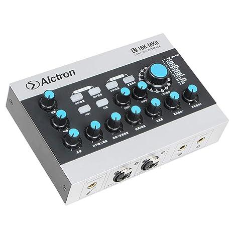 Asiproper - Tarjeta de Sonido USB Alctron U16K MKII ...