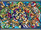 """Ceaco Disney Classics II Oval Stained Glass Jigsaw Puzzle, 1500 Pieces, 5"""""""