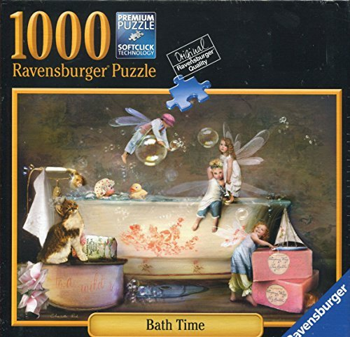 Ravensburger Word Puzzle - Ravensburger Bath Time 1000 Piece Jigsaw Puzzle (80502)