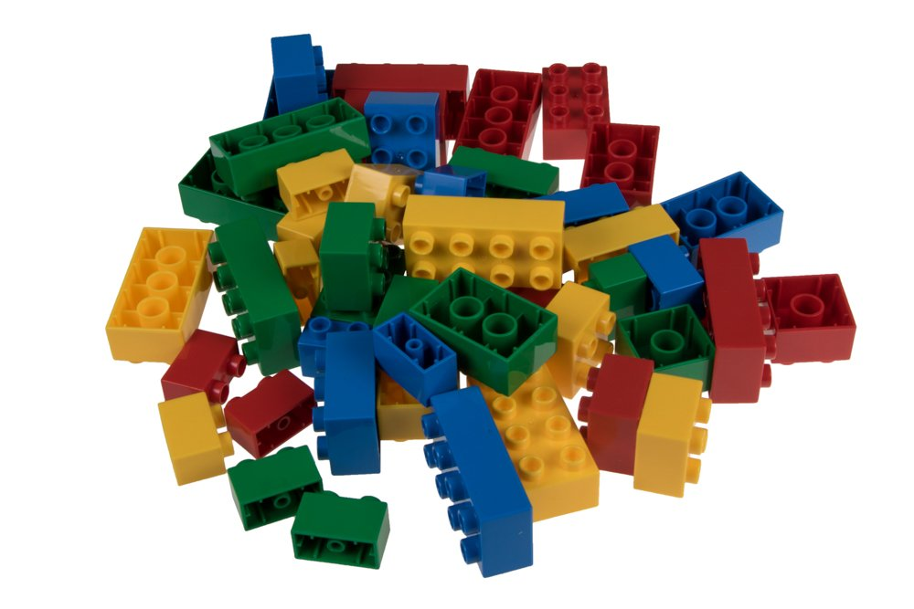 Strictly Briks Classic Big Bricks Set de ladrillos grandes para construir Para