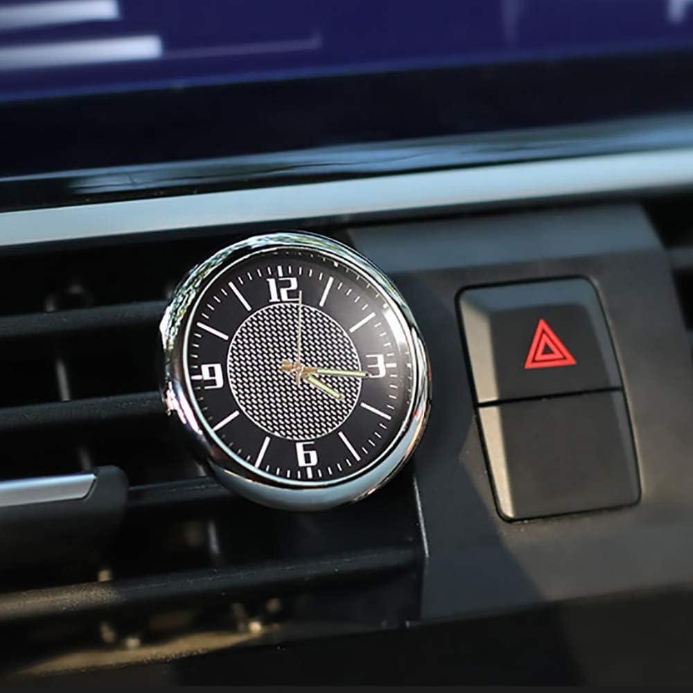DBSCD Auto Uhr Auto Uhr Armaturenbrett Digitaluhr Zubeh/ör f/ür BMW Ford Focus Volkswagen Audi Peugeot Renault Mercedes Toyota Seat