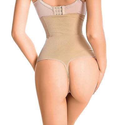 717dbcbfab495 Lelinta Women s Butt Lifter Shaper Seamless Tummy Control Hi-waist Thigh  Slimmer