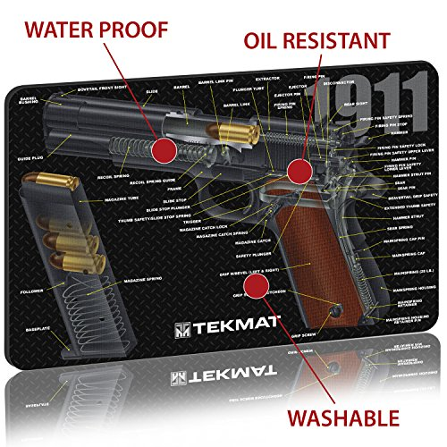 Tekmat 1911 Cleaning Mat 11 X 17 Thick Durable